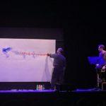 pittura sul palco